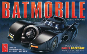 Batman Batmobile 1989 1/25 AMT