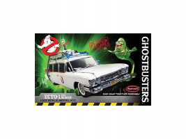 Ghostbusters Ecto-1 w/Slimer Figure Snap 1/25 Polar Lights