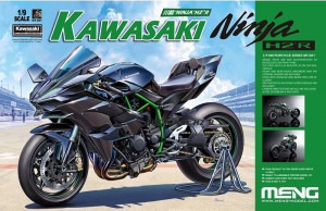Kawasaki Ninja H2R (Pre-colored Edition) 1/9
