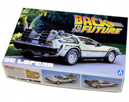 Back To The Future Delorean From Part I 1/24 Aoshima