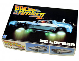 Back To The Future Delorean From Part II 1/24 Aoshima