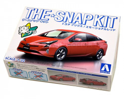 Toyota Prius Emotional Red SNAP-KIT 1/32 Aoshima