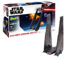 Kylo Ren's Command Shuttle Star Wars 1/93