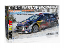 Ford Fiesta RS WRC 2017 World Champion 2017 S. Ogier1/24 Belkits