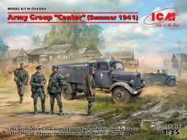 "Army Group ""Center"" (Summer 1941) Diorama Set 1/35 ICM"