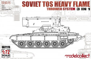 Soviet TOS Heavy Flame Thrower System 3in1 1/72