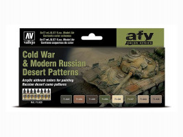 Farby Vallejo sada Cold War & Modern Russian Desert Patterns 8x17ml