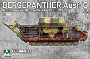 Bergepanther Ausf. G Sd.Kfz.179 w/full inter 1/35 Takom
