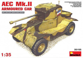 AEC Mk 2 Armoured Car 1/35 MiniArt