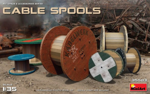 Cable Spools 1/35 MiniArt