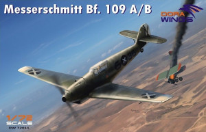 Messershmitt Bf 109 A/B Legion Condor 1/72 Dora Wings