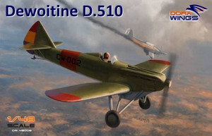 Dewoitine D.510 Spanish civil war (+bonus JP) 1/48 Dora Wings