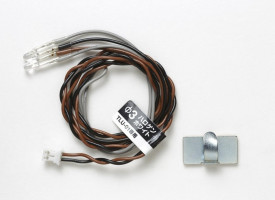 LED 3mm Halogen White pre Tamiya TLU-01