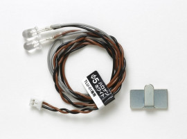 LED 5mm Halogen White pre Tamiya TLU-01