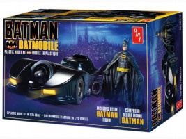 Batman 1989 Batmobile w/Resin Batman Figure 1/25