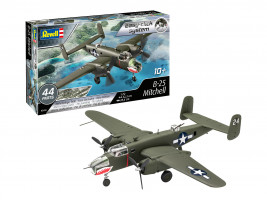B-25 Mitchell Easy-Click Model Set 1/72