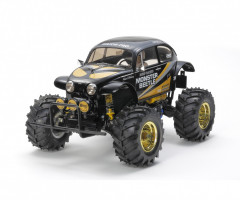 Tamiya RC Monster Beetle Black 2WD ABS čierny 1/10 KIT