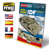 Publikácia MIG How to paint IDF Vehicles Solution Book (Multi-Language)