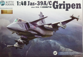 Jas-39A/C Gripen 1/48 Kitty Hawk