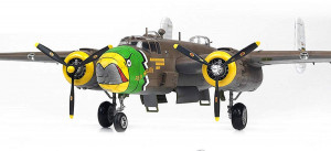 "B-25 D Mitchell USAAF ""PACIFIC THEATRE"" 1/48"