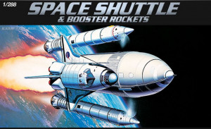 Space Shuttle and Booster Rockets 1/288