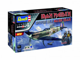 "Spitfire Mk. II ""Aces High 35th Anniv. Iron Maiden Gift-set 1/32"