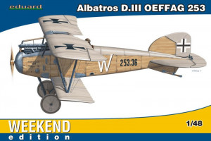 Albatros D.III OEFFAG 253 Weekend Edition 1/48 Eduard