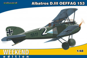 Albatros D.III OEFFAG Weekend Edition 1/48 Eduard