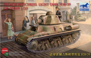 H38/H39 French light tank 1/35 Bronco Models