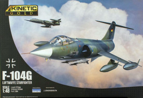 F-104 G Starfighter German Air Force and Marine 1/48 Kinetic