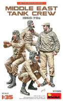 Middle East Tank Crew 1960-70s 1/35