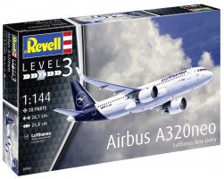 Airbus A320neo Lufthansa (New Livery) 1/144 Revell