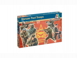 Figures Warsaw Pact Troops 1/72