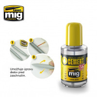 Lepidlo Ammo Medium Dense Cement - Slow Dry 30 ml