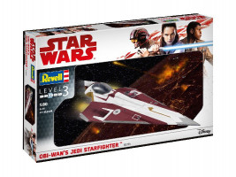 Obi-Wan's Jedi Starfighter Star Wars 1/80