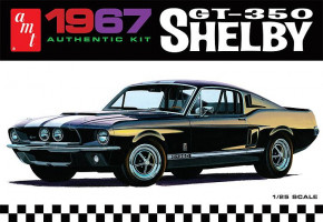 1967 Shelby GT350 - White 1/25