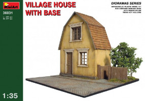 Village House with Base - dioráma 1/35