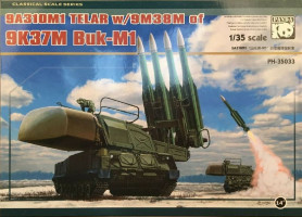Sam-11 Buk (With Metal track link) 1/35