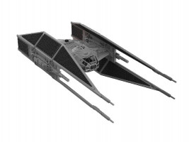 Kylo Ren's TIE Fighter Star Wars 1/70