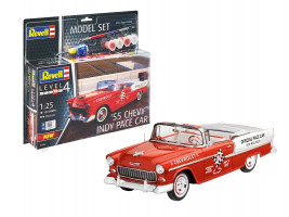 '55 Chevy Indy Pace Car Model Set 1/25   Revell 67686