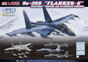 Su-35S Flanker E 1/48 Great Wall Hobby