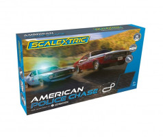 Autodráha Scalextric American Police Chase 5,3m Analog 1/32