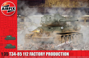 T34/85 112 Factory Production 1/35