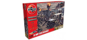 D-Day 75th Anniversary Sea Assault Gift Set 1/72