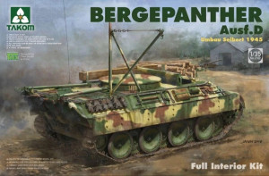Bergepanther Ausf. D Assembled by Seibert 1945 w/full inter 1/35