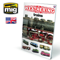 Publikácia MIG The Weathering Special - TRAINS (English)