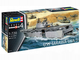 Assault Ship USS Tarawa LHA-1 1/720