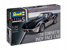 '78 Corvette (C3) Indy Pace Car 1/24