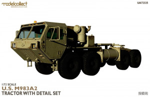 M983A2 Tractor with detail set 1/72 Modelcollect