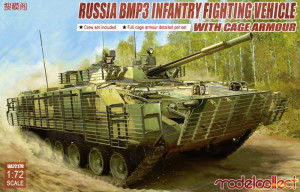 BMP3 IFV w. Cage Armour 1/72 Modelcollect